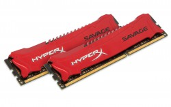 Ram Kingston 8GB 1600MHz DDR3 Non-ECC CL9 DIMM (Kit of 2) XMP HyperX Savage HX316C9SRK2/8