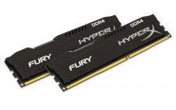 RAM Kingston HyperX Fury Black 8G DDR4 Bus 2400Mhz CL15 Kit of 2 - HX424C15FBK2/8
