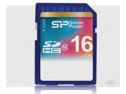 Silicon Power - SD Card SDHC 16G Class 10