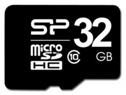 Silicon Power - Micro SDHC Card 32GB Class 10