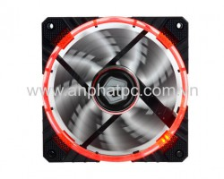 fan case ID Cooling Concentric Circular CF-12025 Red Led - PWM