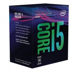 CPU Intel Core i5-9600 (3.1GHz turbo up to 4.6GHz, 6 nhân 6 luồng, 9MB Cache, 65W) - LGA 1151