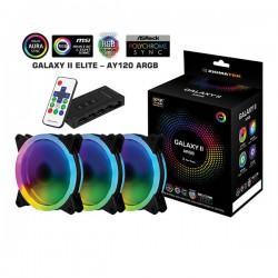 Fan Case Xigmatek GALAXY II ELITE - AY120 ARGB (EN40298) - 3 Fan