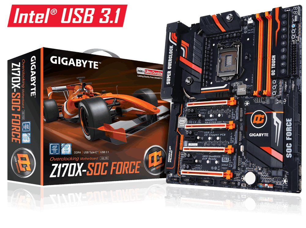 Mainboard GIGABYTE GA Z170X SOC FORCE